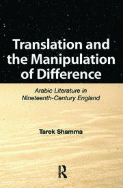 Translation and the Manipulation of Difference - 1st Edition book cover