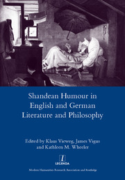 Shandean Humour in English and German Literature and Philosophy - 1st Edition book cover