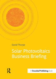 Solar Photovoltaics Business Briefing - 1st Edition book cover