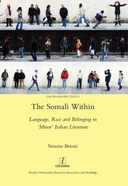 The Somali Within - 1st Edition book cover