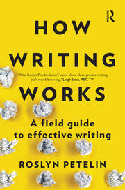 How Writing Works - 1st Edition book cover