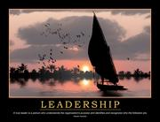 Leadership Poster - 1st Edition book cover