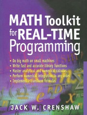 Math Toolkit for Real-Time Programming - 1st Edition book cover