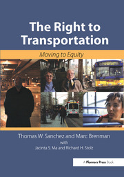 The Right to Transportation : Moving to Equity - 1st Edition book cover