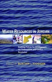 Water Resources in Jordan - 1st Edition book cover