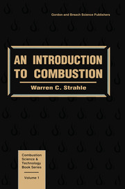 An Introduction to Combustion - 1st Edition book cover