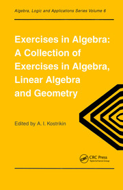Exercises in Algebra - 1st Edition book cover