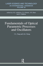 Fundamentals of Optical Parametric Processes and Oscillations - 1st Edition book cover