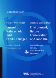 Practical Dictionary of Environment, Nature Conservation and Land Use - 1st Edition book cover