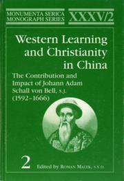 Western Learning and Christianity in China - 1st Edition book cover