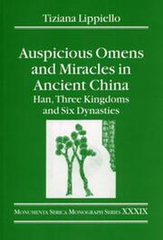 Auspicious Omens and Miracles in Ancient China - 1st Edition book cover