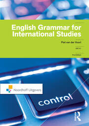 English Grammar for International Studies - 1st Edition book cover