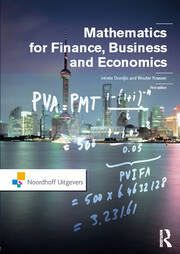 Mathematics for Finance, Business and Economics - 1st Edition book cover