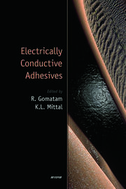 Electrically Conductive Adhesives - 1st Edition book cover