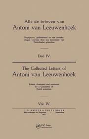 Collected Letters Van Leeuwenhoek, Volume 4