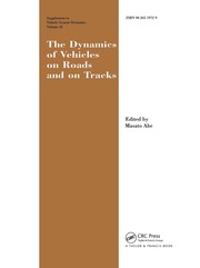 The Dynamics of Vehicles on Roads and on Tracks Supplement to Vehicle System Dynamics: Proceedings of the 18th IAVSD Symposium Held in Kanagawa, Japan, August 24-30, 2003