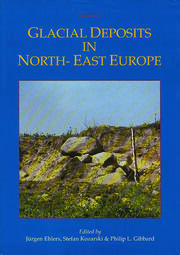 Glacial Deposits in Northeast Europe - 1st Edition book cover