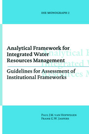 Analytical Framework for Integrated Water Resources Management - 1st Edition book cover