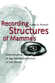 Recording Structures of Mammals - 1st Edition book cover