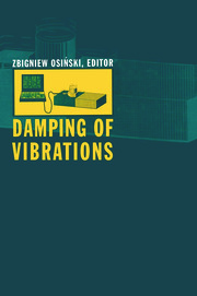 Damping of Vibrations - 1st Edition book cover