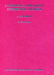 Compounds and Alloys Under High Pressure - 1st Edition book cover