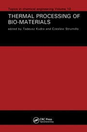 Thermal Processing of Bio-Materials - 1st Edition book cover