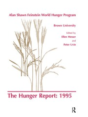 The Hunger Report 1995 - 1st Edition book cover