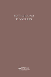 Soft-Ground Tunneling - 1st Edition book cover