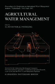 Agricultural Water Management - 1st Edition book cover
