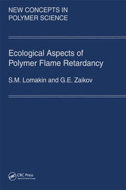 Ecological Aspects of Polymer Flame Retardancy - 1st Edition book cover