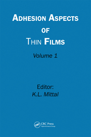 Adhesion Aspects of Thin Films, Volume 1 - 1st Edition book cover