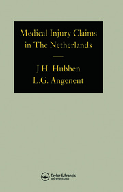 Medical Injury Claims in the Netherlands 1980-1990 - 1st Edition book cover