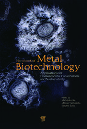 Handbook of Metal Biotechnology: Applications for Environmental Conservation and Sustainability