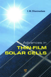 Advances in Thin-Film Solar Cells - 1st Edition book cover