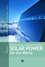 Solar Power for the World: What You Wanted to Know about Photovoltaics