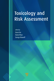 Toxicology and Risk Assessment - 1st Edition book cover