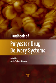 Handbook of Polyester Drug Delivery Systems - 1st Edition book cover