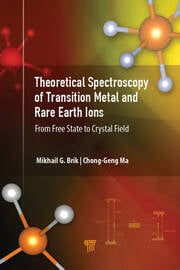 Theoretical Spectroscopy of Transition Metal and Rare Earth Ions - 1st Edition book cover