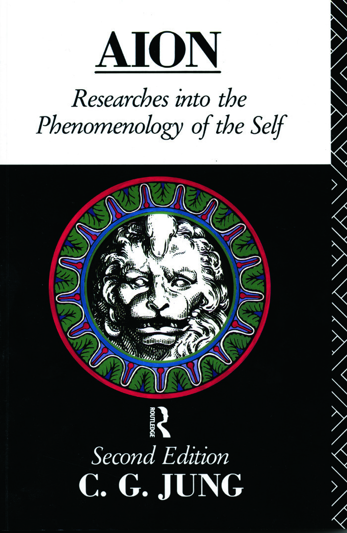 Aion Researches Into The Phenomenology Of The Self 1st Edition C