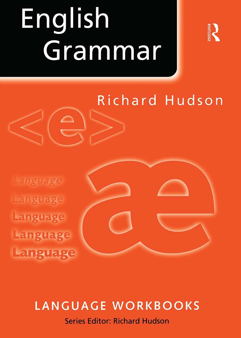 English Grammar - 1st Edition - Richard Hudson - Routledge Book