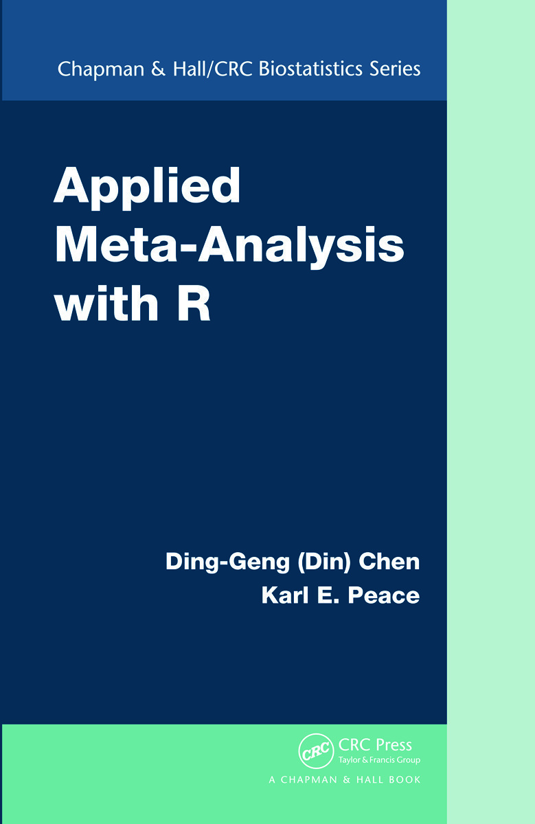 Applied Meta Analysis With R 1st Edition Ding Geng Din Chen K