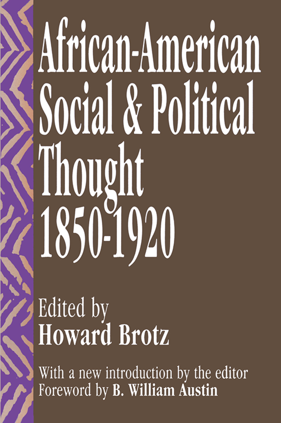 African-American Social And Political Thought: 1850-1920 - 1st Edition
